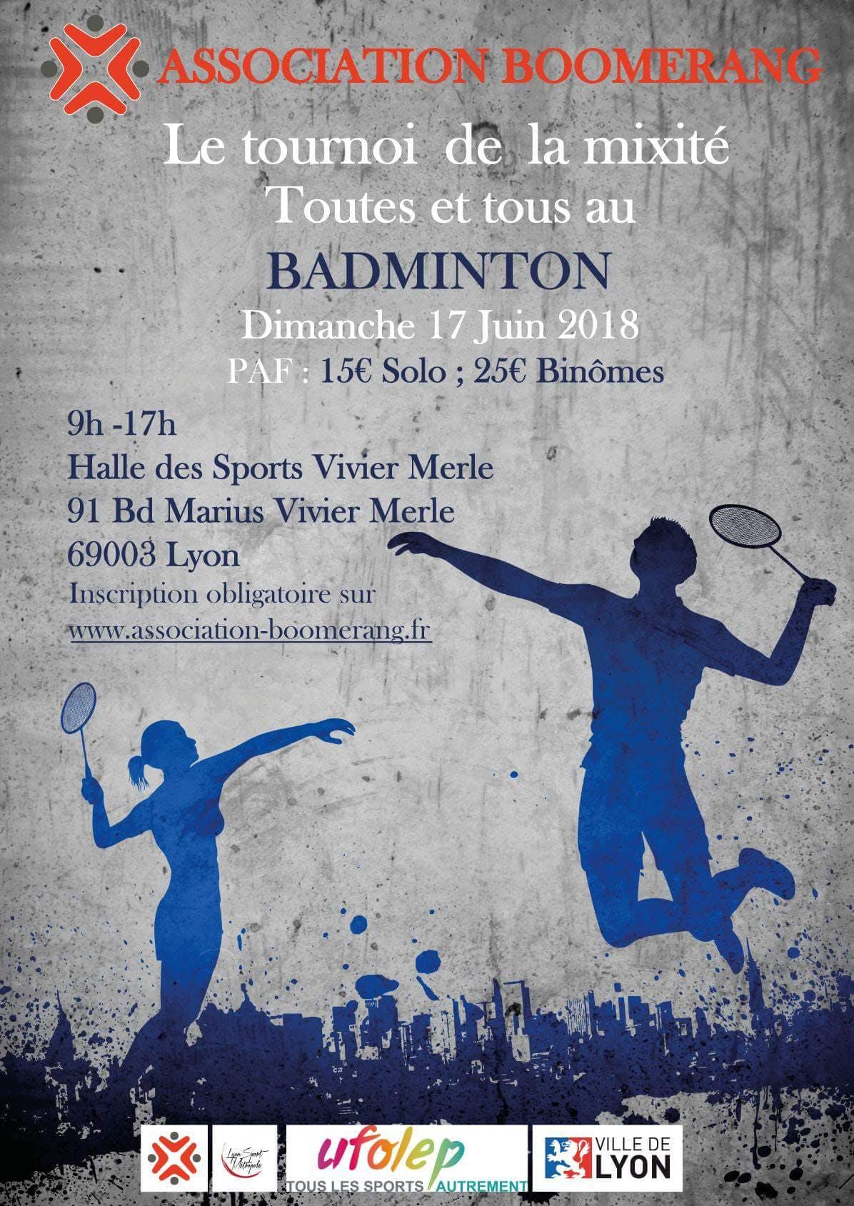 Toutes Et Tous Au Badminton : Le Tournoi De L