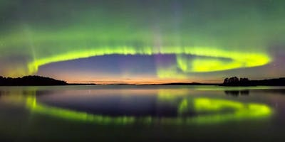 New Years Eve Under the Northern Lights