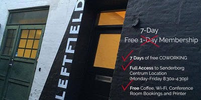 Free Leftfield Co-Working 7 Day Pass - Fall 2018