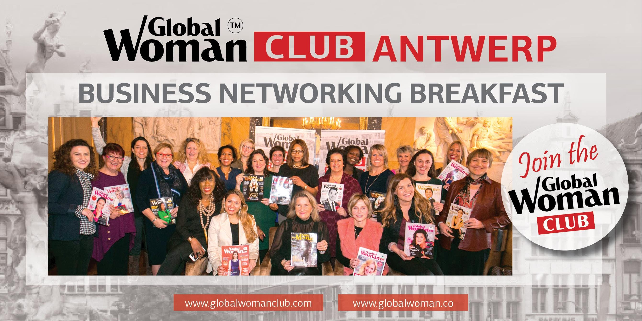 GLOBAL WOMAN CLUB ANTWERP BUSINESS BREAKFAST - JULY