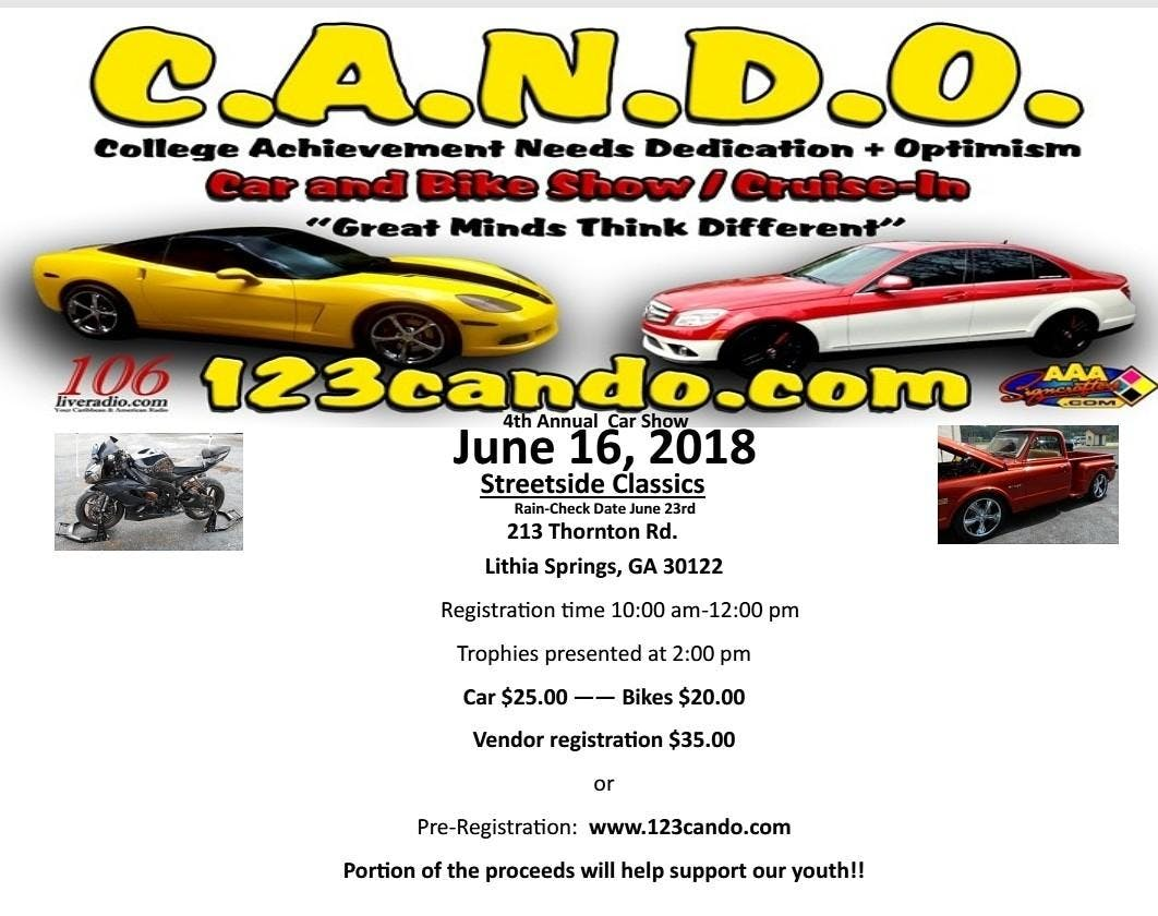 CANDO CAR BIKE SHOW JUN - Streetside classics car show