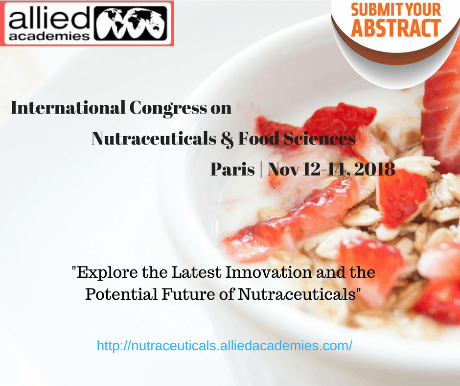 International Conference on Nutraceuticals an