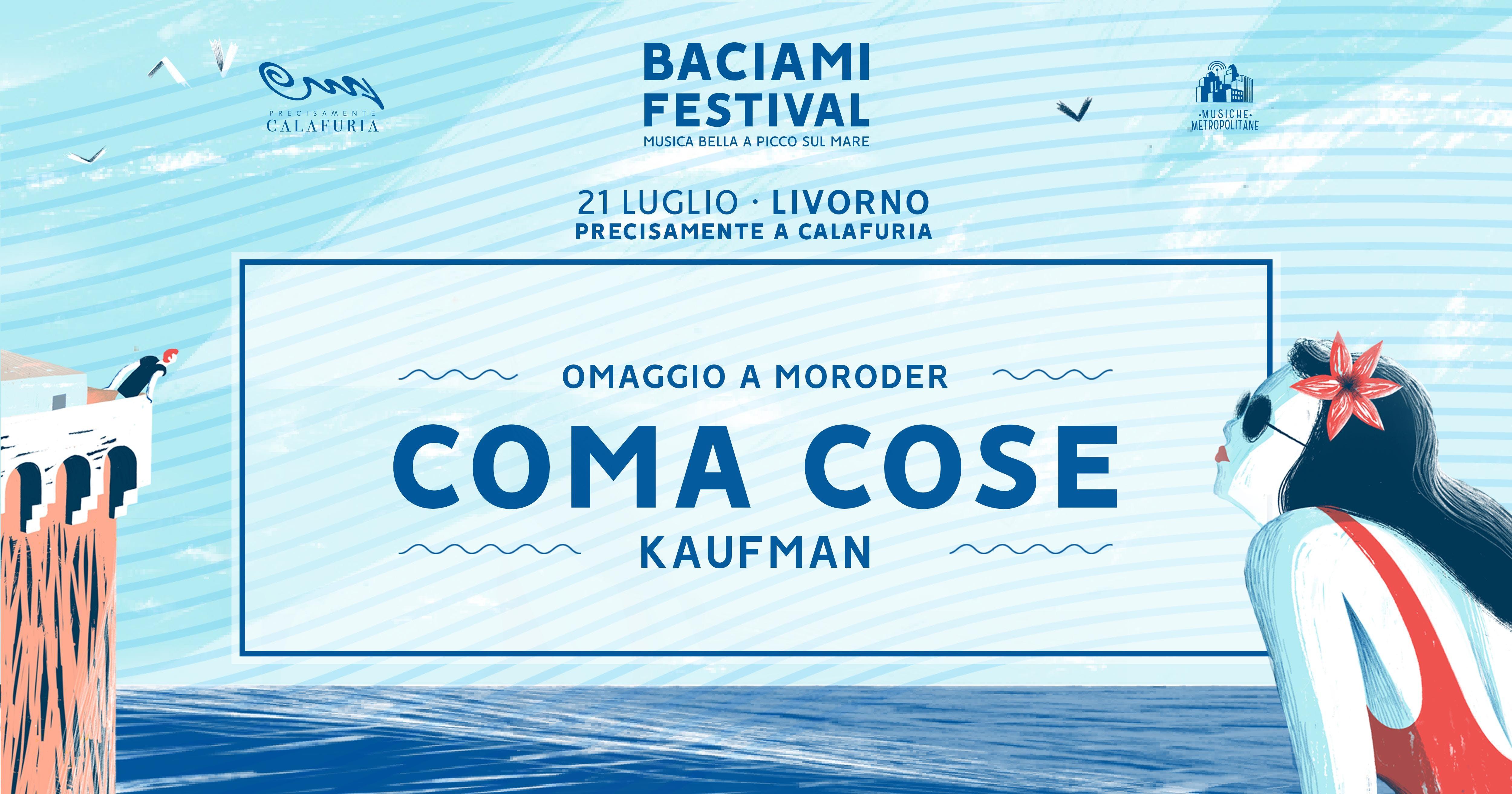 Coma Cose + Kaufman • Baciami Festival 2018
