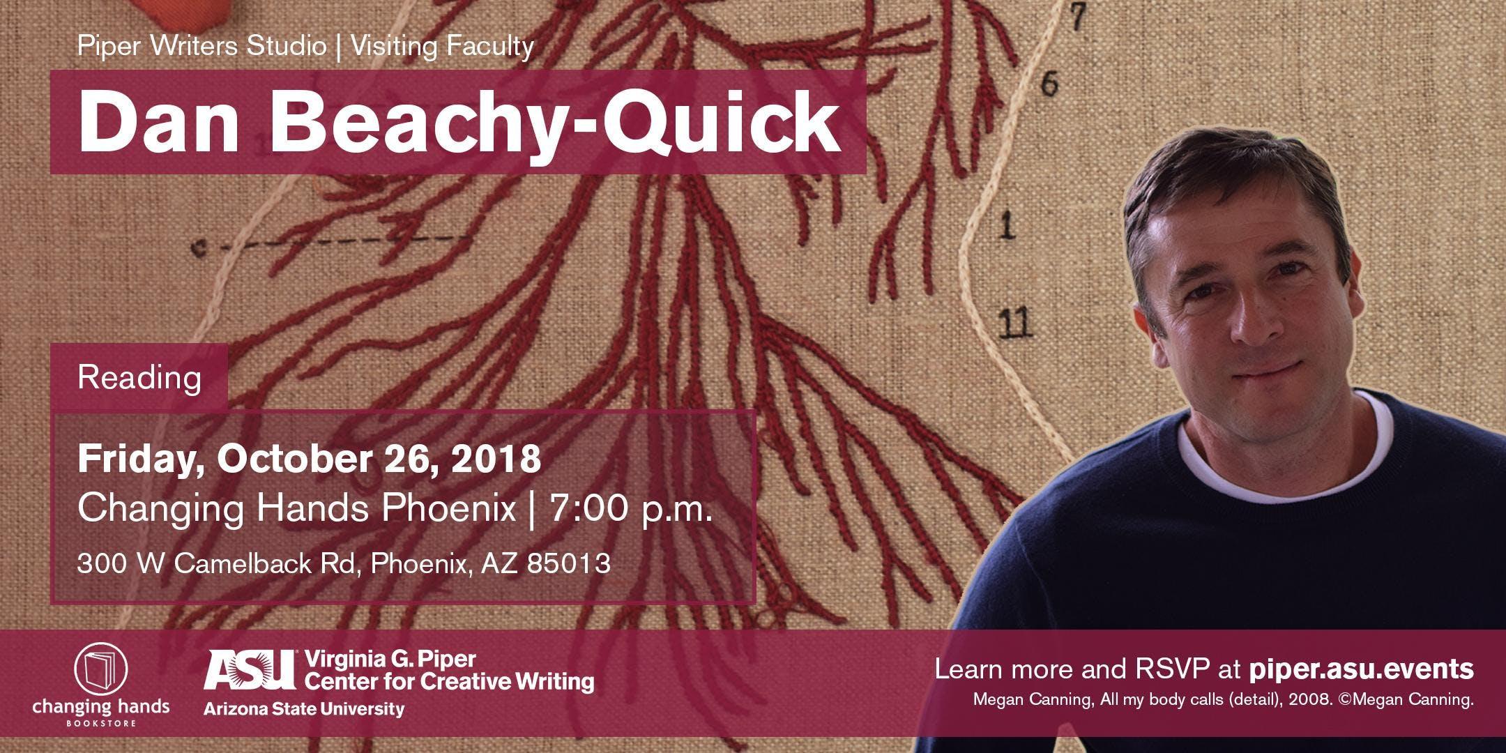 Poetry Reading: Dan Beachy-Quick