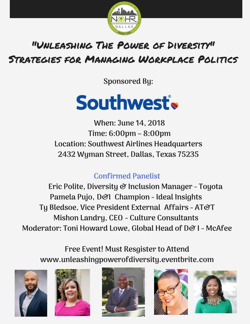 Unleashing The Power Of Diversity - 14 JUN 2018
