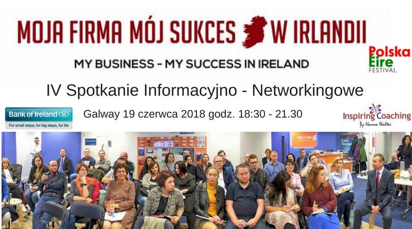 Moja Firma - Mój Sukces w Irlandii  - GALWAY