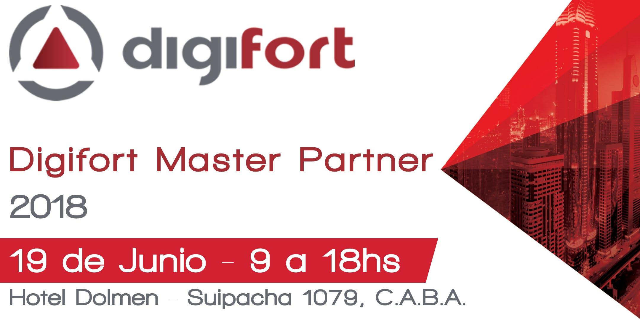 Digifort Master Partner Buenos Aires 2018