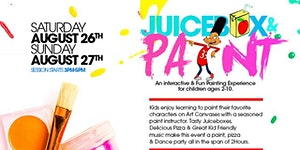 JuiceBox & Paint: A Kids Paint & Pizza Party Experience