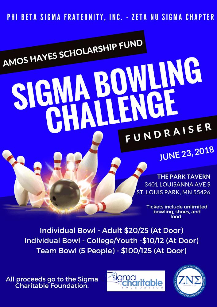 2018 Sigma Bowling Challenge: Amos Haynes Sch