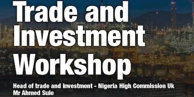 TRADE AND INVESTMENT WORKSHOP