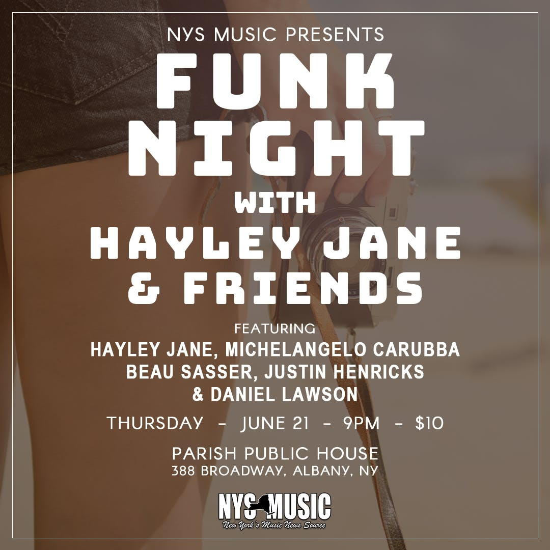 Funk Night ft. Haley Jane and Friends!