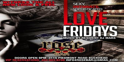 Rose Bar Fridays in the ATL