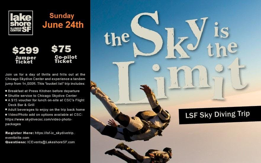The Sky is the Limit - LSF Skydiving Trip