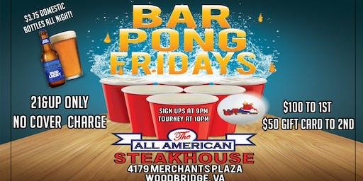 Pong Fridays $100 Prize