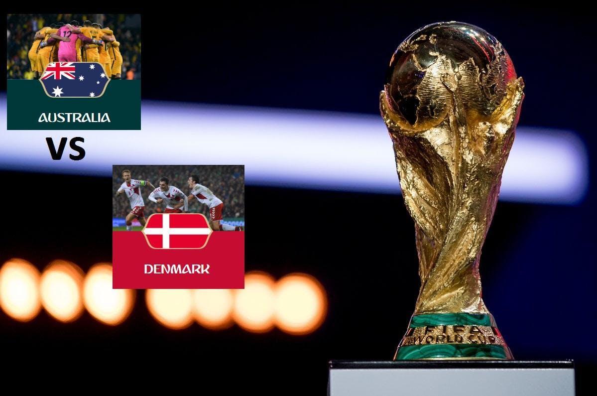 WORLD CUP UPLATE Australia vs Denmark