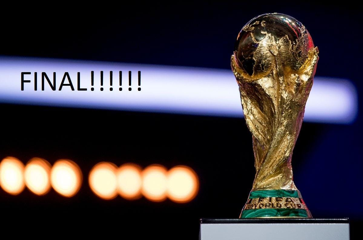 WORLD CUP UP LATE FINAL