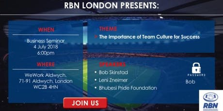 Bob Skinstad - Springbok Captain and World Cup Winner on Culture and Community in business and rugby tickets