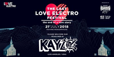 The last LOVE ELECTRO! Festival / The end of a love story
