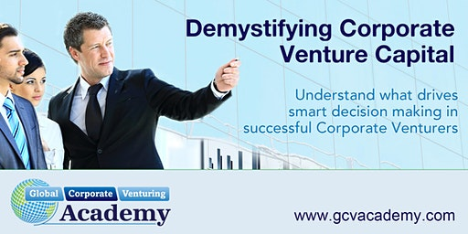 2-Day Intelligent Corporate Venturing Course | 27-28 Jan, 2020 | Silicon Valley, CA (USA)