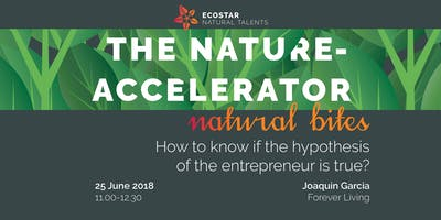 NATURAL BITES   How to know if the hypothesis of the entrepreneur is true?