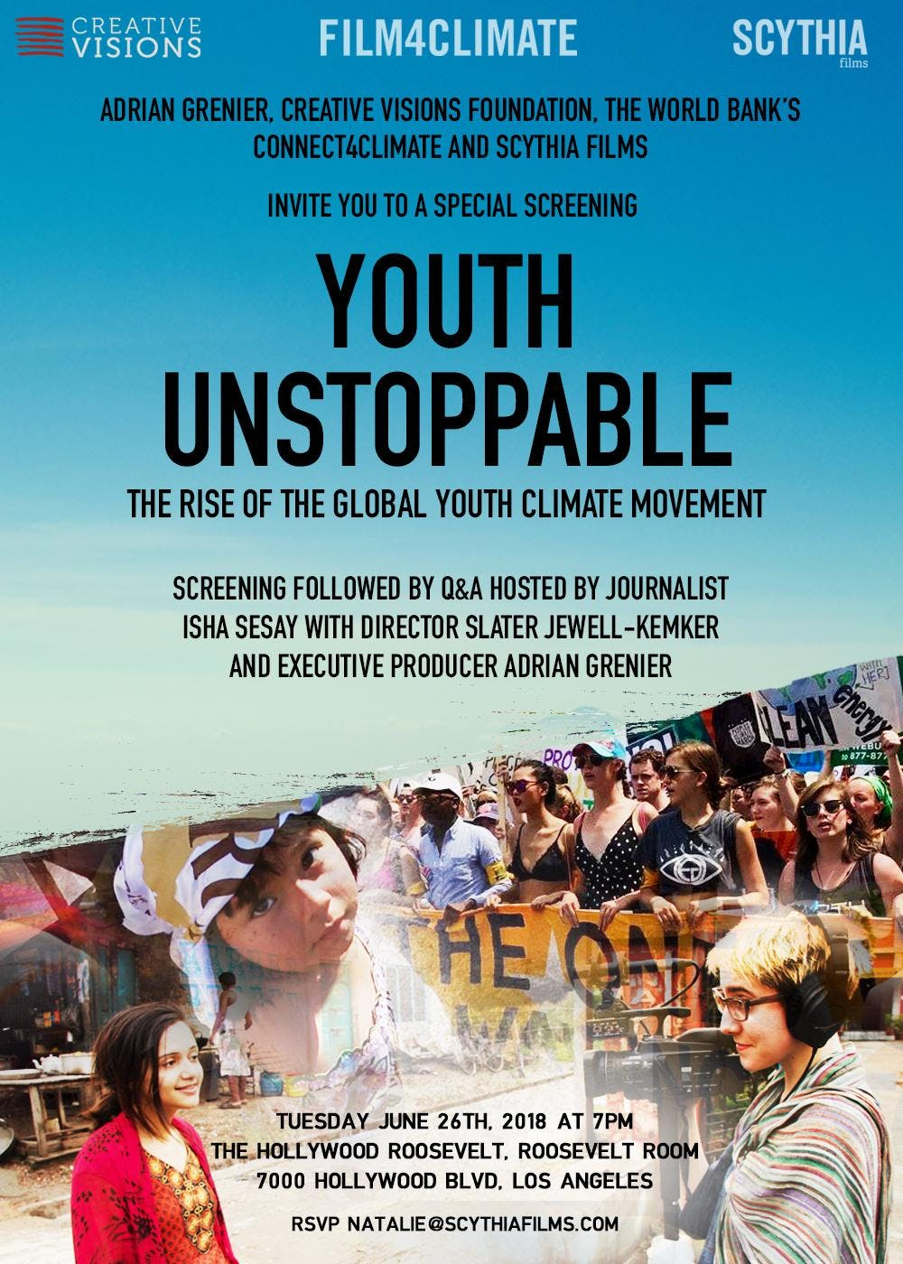 Youth Unstoppable Screening & Fundraiser