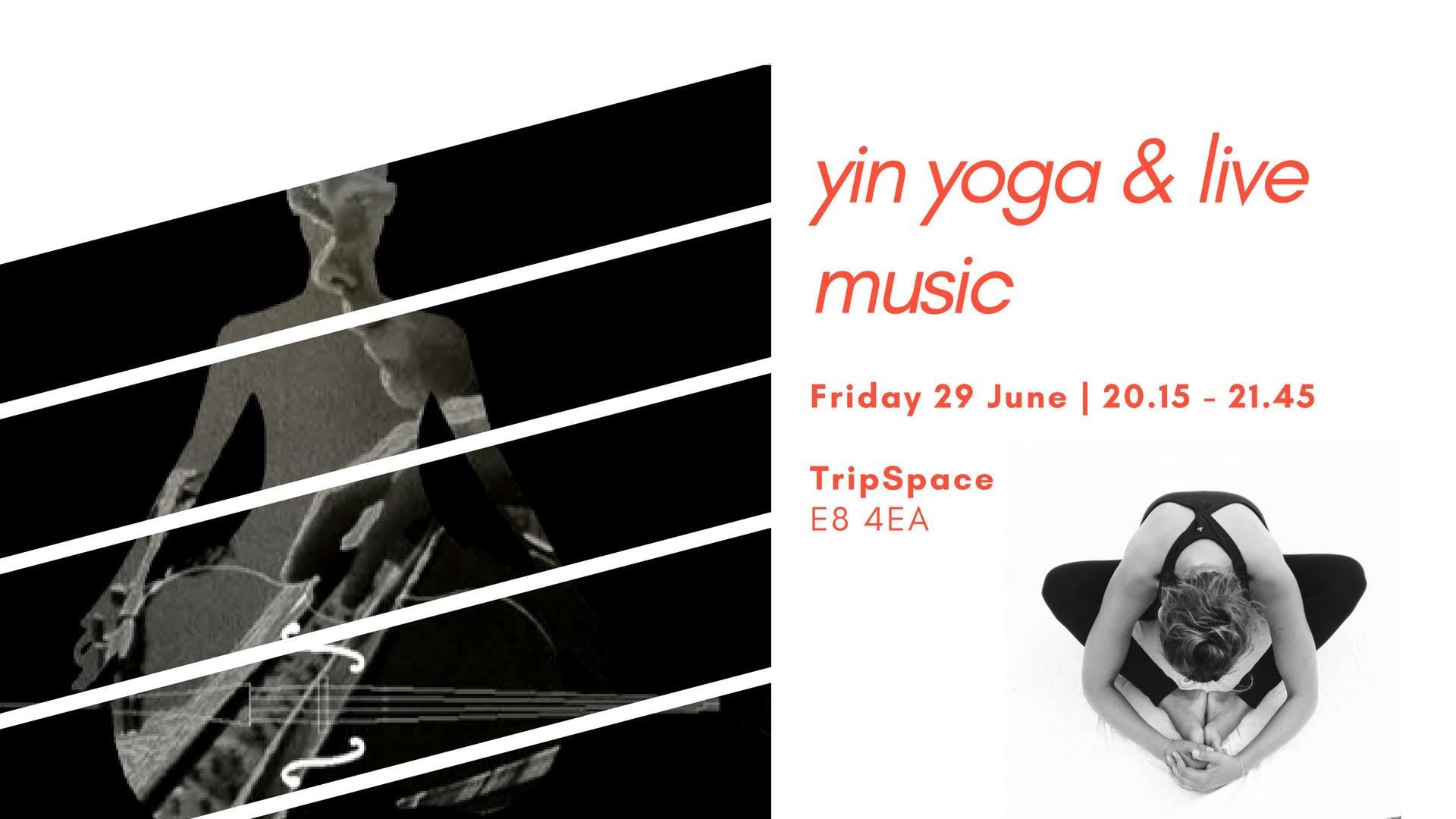 Yin Yoga with Live Music (Cello and Dilruba)