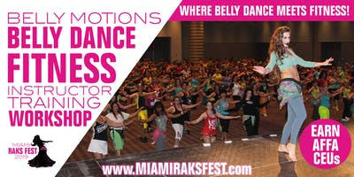 BELLY DANCE FITNESS INSTRUCTOR TRAINING WORKSHOP