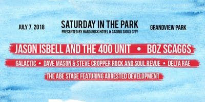 Saturday In The Park 2018