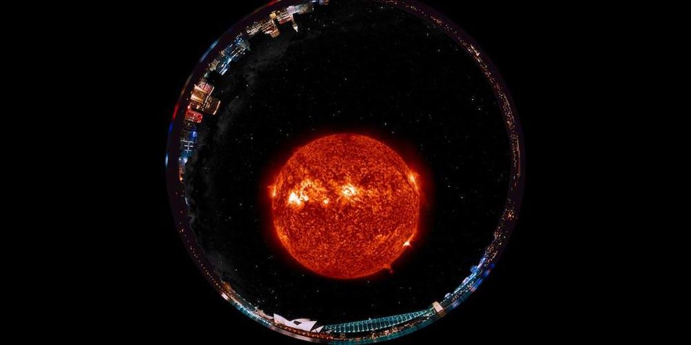 Planetarium VidLaser Pink Floyd, Gorillaz, Radiohead+Free Apollo 11