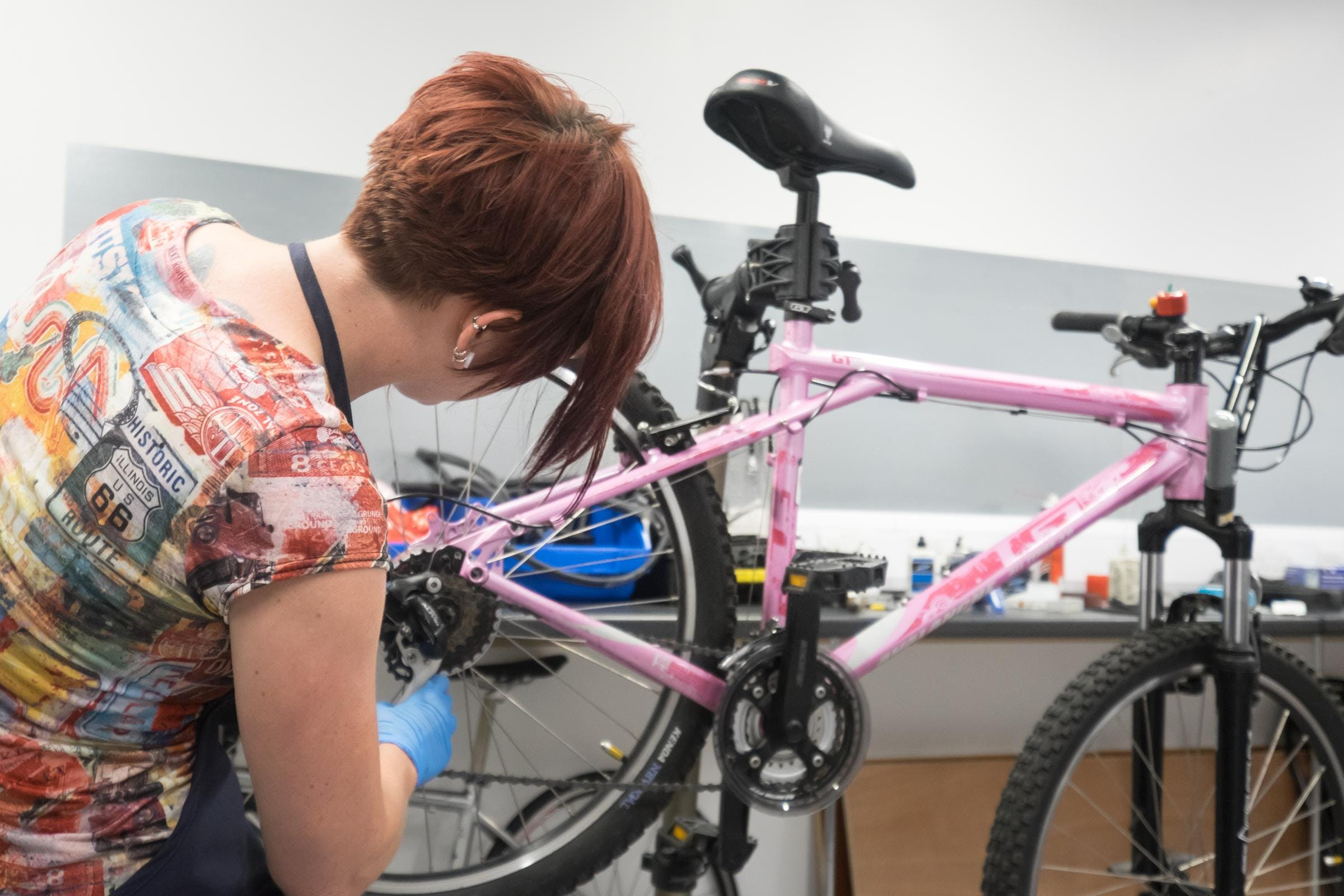 Intermediate bicycle maintenance [Bury]