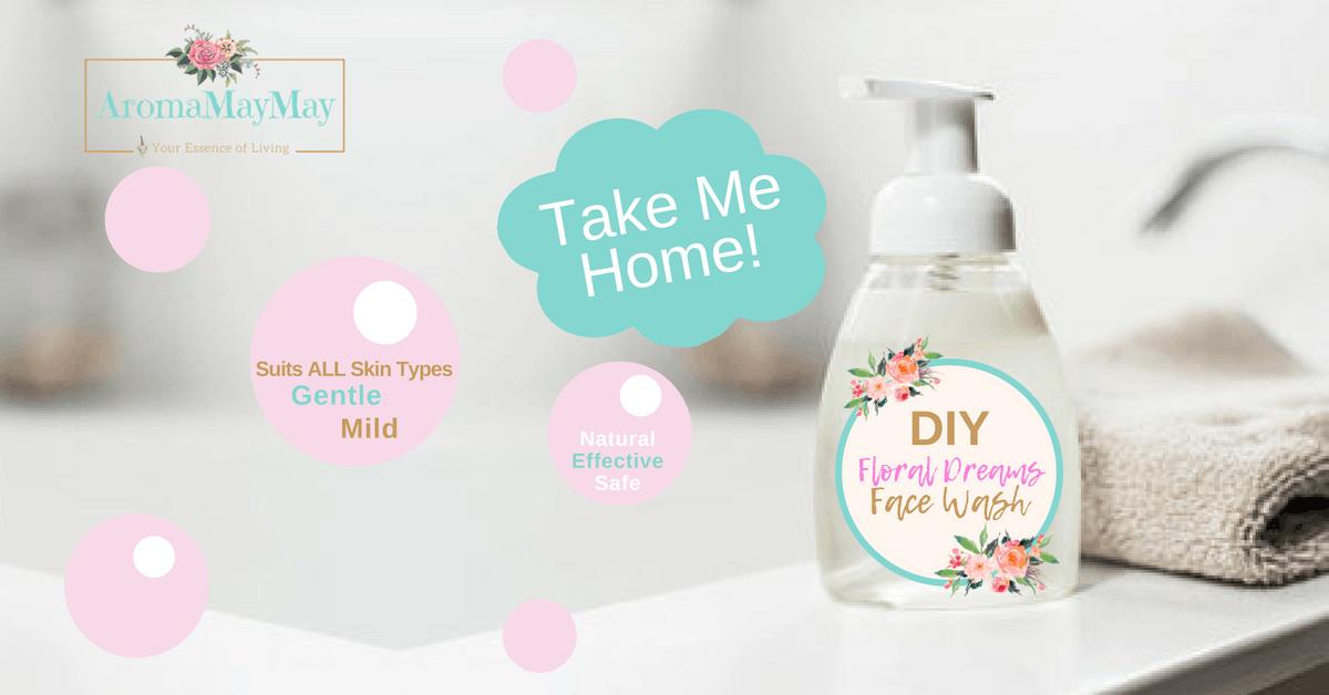 DIY Floral Dreams Face Wash Workshop
