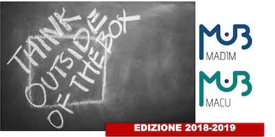 PRESENTAZIONE MASTER MACU E MADIM - Edizione 2018-2019