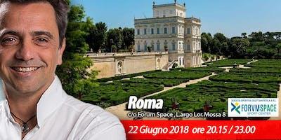 Roma | Evento gratuito con Gian Mario Migliaccio, Ph.D