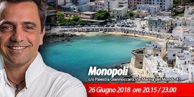 Monopoli   Evento gratuito con Gian Mario Migliaccio, Ph.D