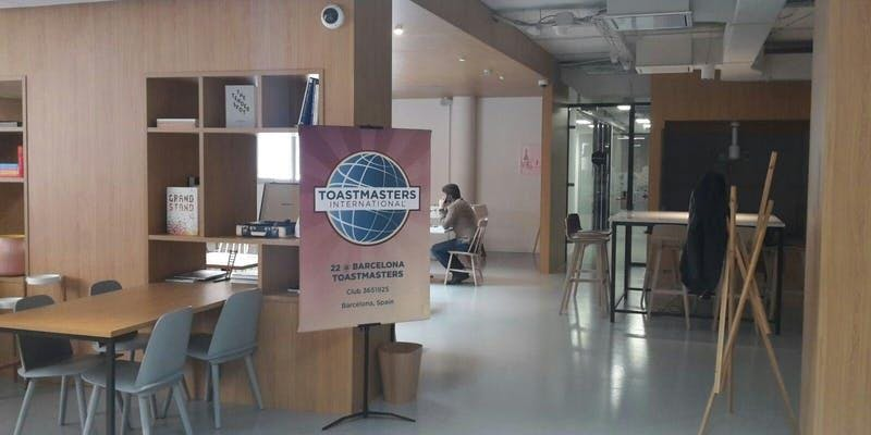 22@ Barcelona Toastmasters - Public Speaking