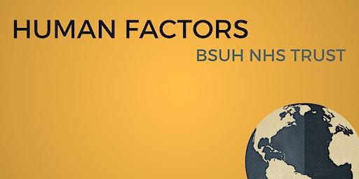 Dr Rob Galloway's Human Factors Workshop