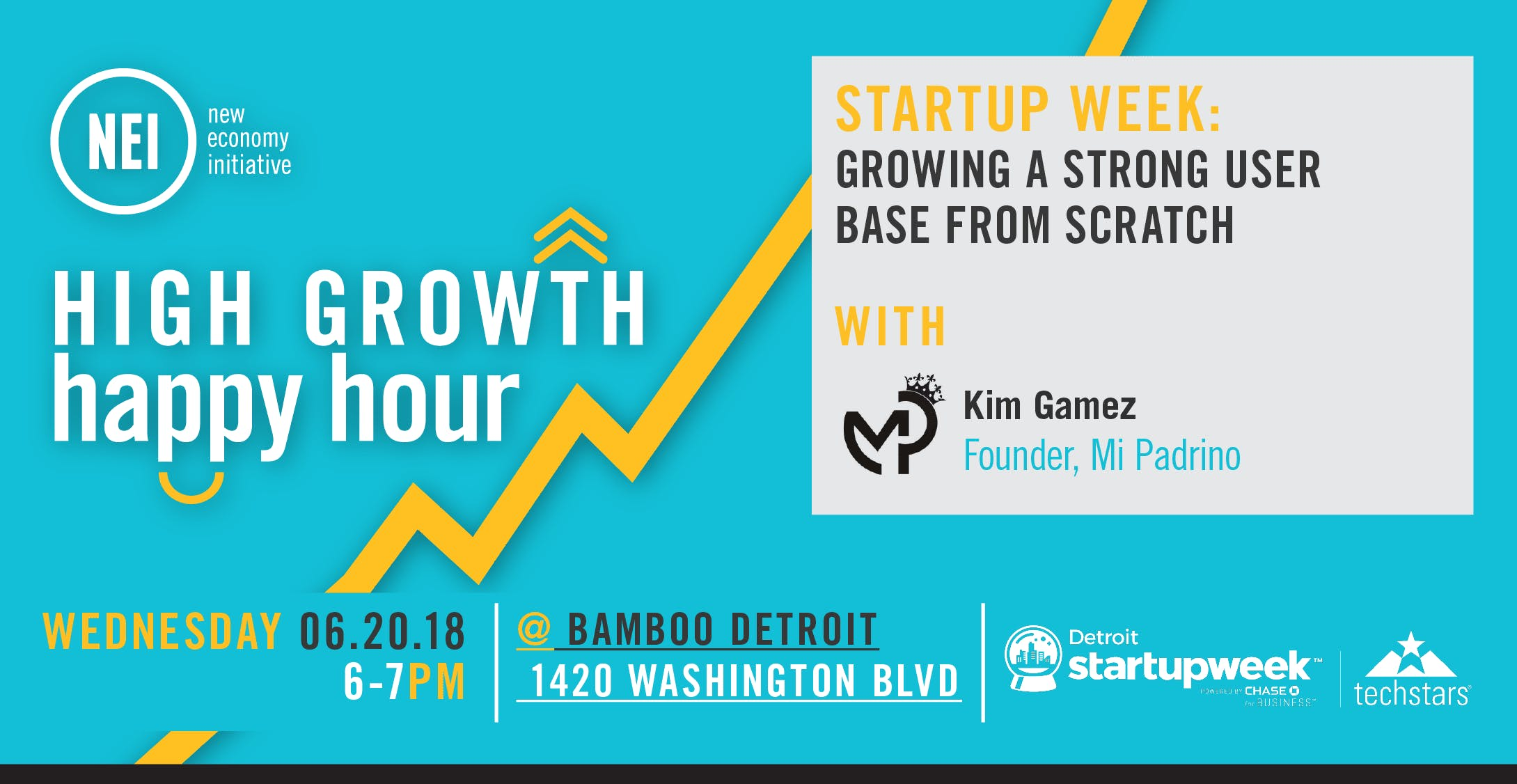 High Growth Happy Hour: Growing a Strong User