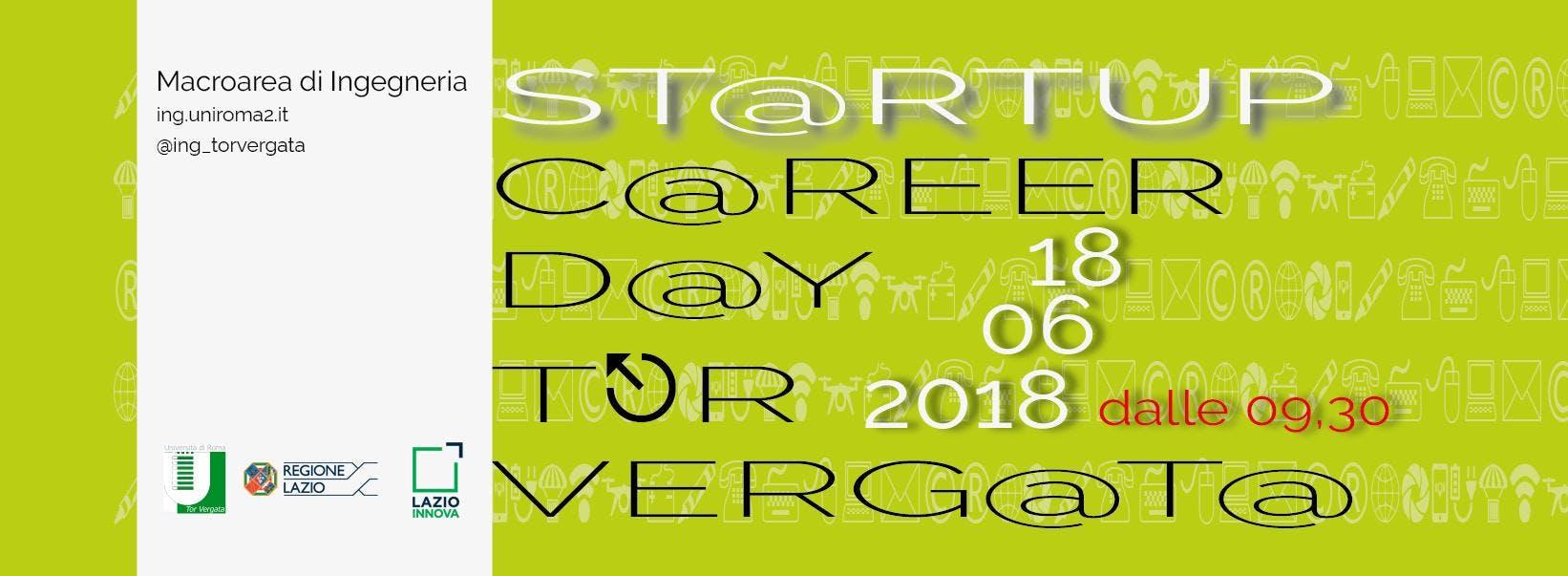 Startup Career Day Tor Vergata 2018