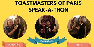 Toastmasters of Paris Speak-a-thon