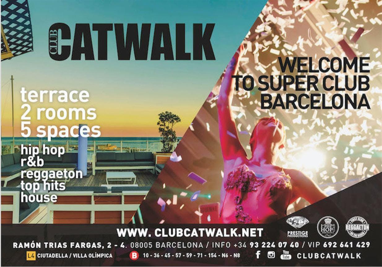 Tickets CLUB CATWALK night
