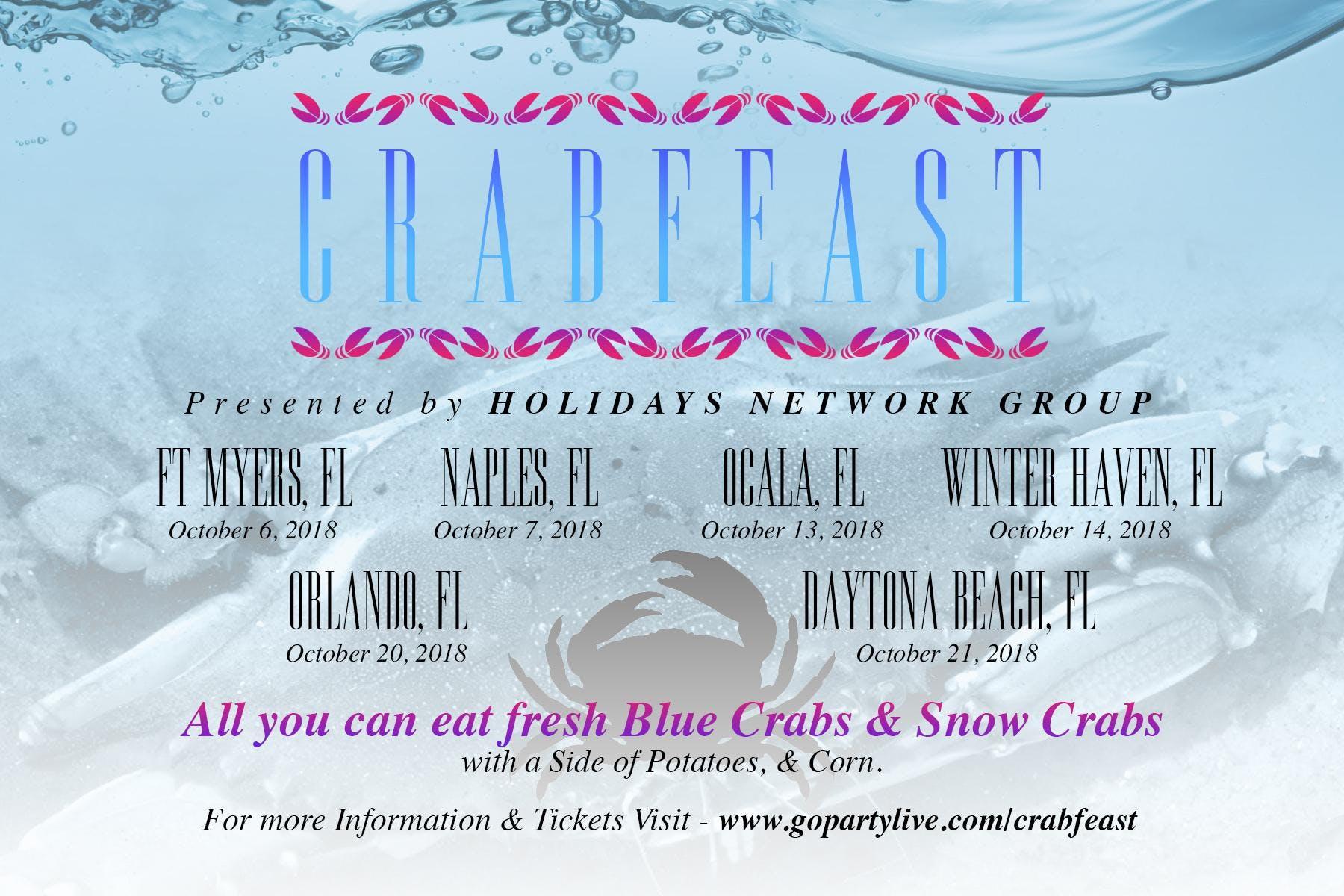 Crab Feast Tour Daytona Beach