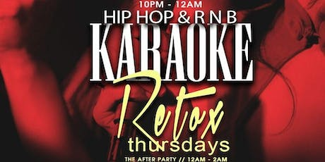 Karoke Thursdays @ BQE Lounge tickets