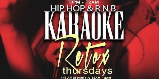 Karoke Thursdays @ BQE Lounge