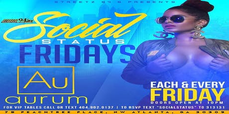 Love & Hip Hop Fridays at Aurum Lounge tickets