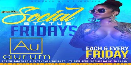Love & Hip Hop Fridays at Aurum Lounge