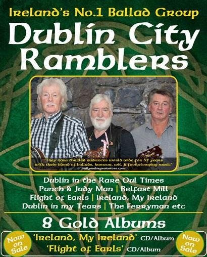 Dublin City Ramblers in concert