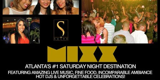 Saturday Mixx at Suite Lounge