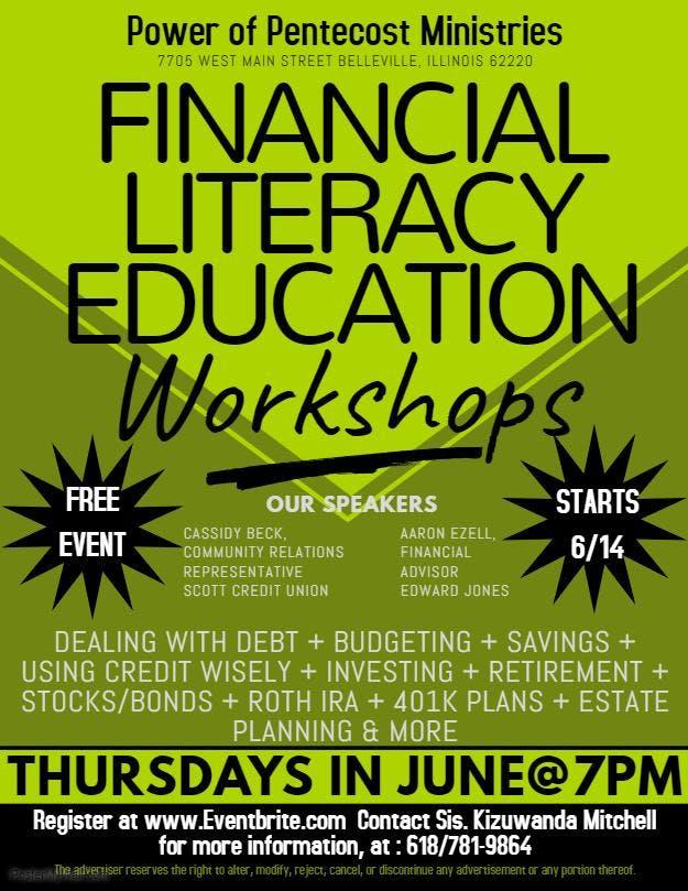 Financial Literacy Education Workshops