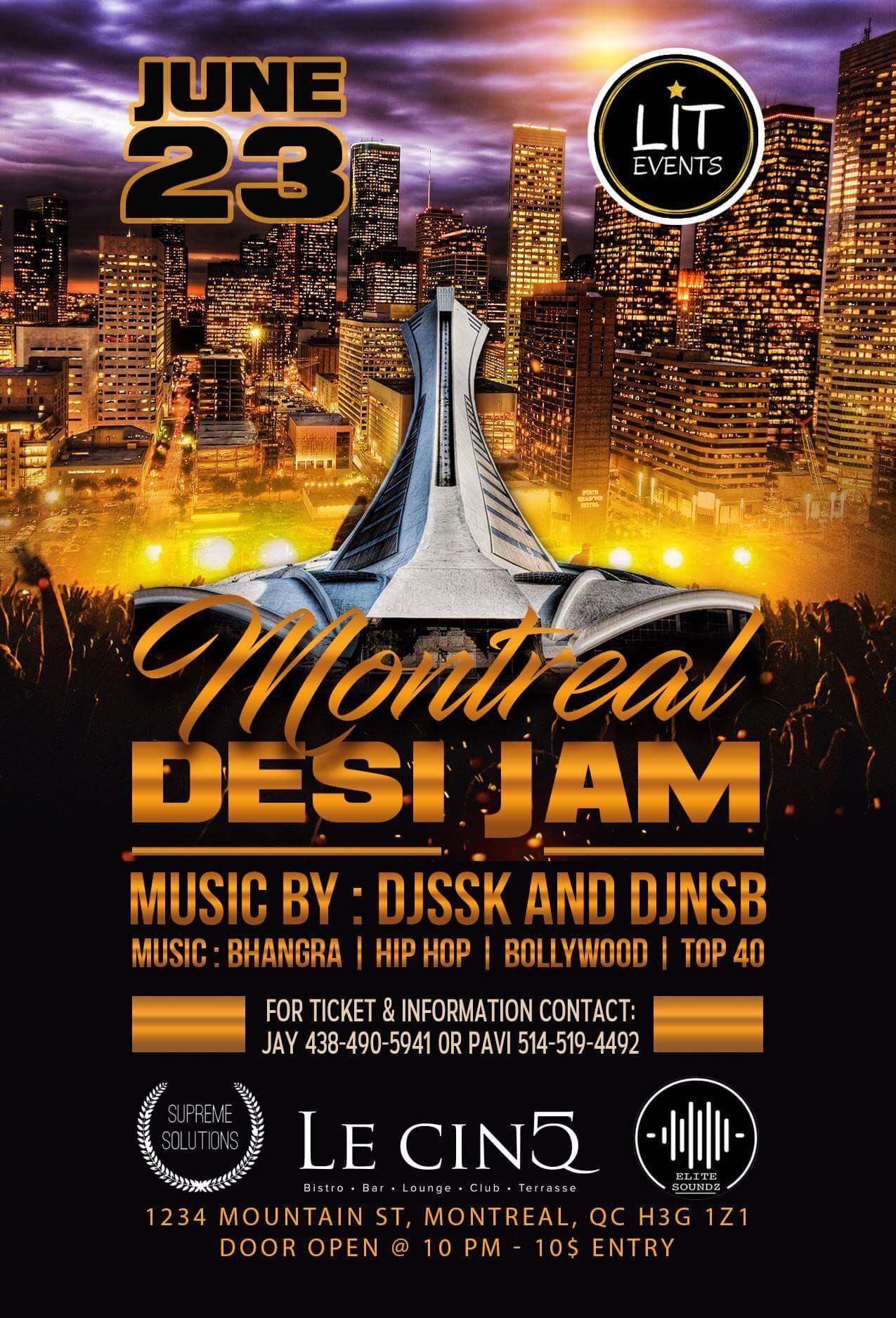 Montreal Desi Jam