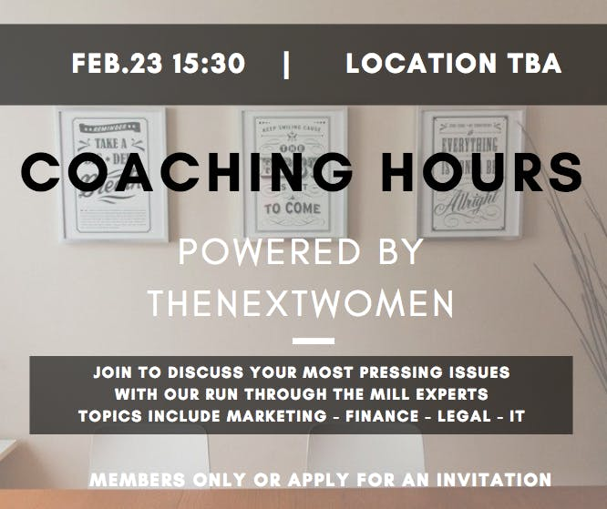 TNW Coaching Hours | Legal